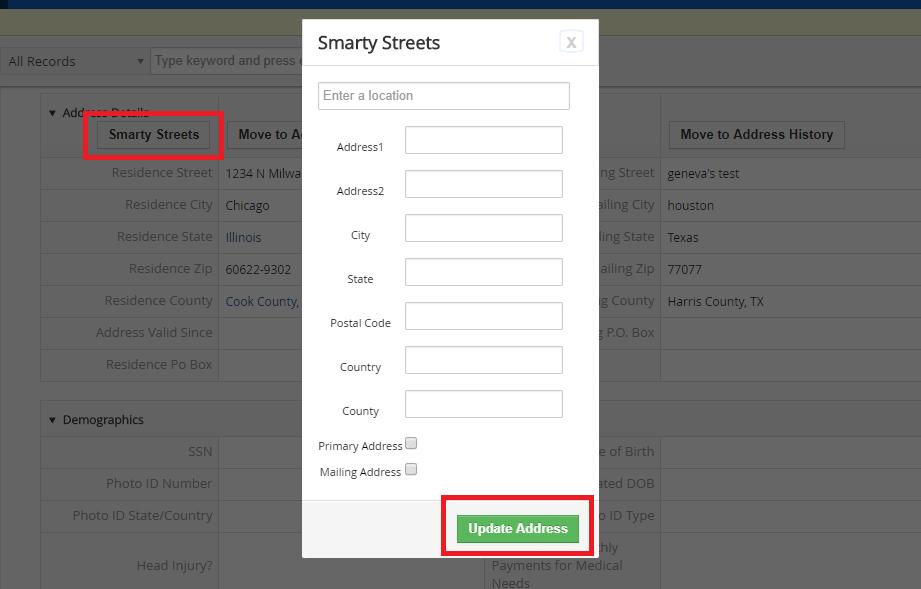 Vtiger Integration SmartyStreets API Boru Apps - Smartystreets